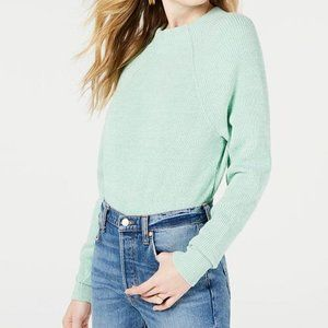 FREE PEOPLE too good sweater in blue green
